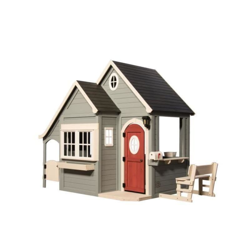 Backyard Discovery Spring Cottage Cubby House - Front Product Image