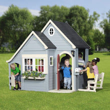 Backyard Discovery Spring Cottage Cubby House - Lifestyle Image 1