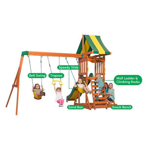 Backyard Discovery Sunnydale Play Centre - Multipurpose Features