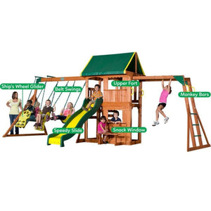 Backyard Discovery Prairie Ridge Play Centre - Multipurpose Features
