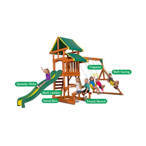 Backyard Discovery Tucson Play Centre - Multipurpose Features