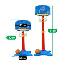Toddler Buzzer Beater Basketball Set - Adjustable Height - Dimensions