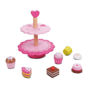 Cupcake Stand and Cupcakes - Play Kitchen Accessories