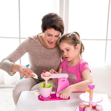 Mum and girl playing with Classic World Mixer - Play Kitchen Accessories - Image 1