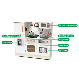 Superior Kitchen - Kids Play Kitchen - Multi Features