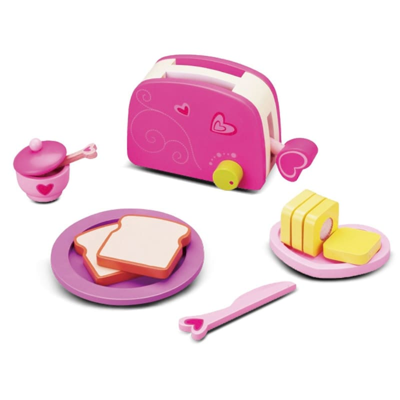 Classic Toaster Set - Play Kitchen Accessories