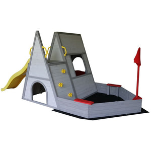 The Dakota Play Set - Outdoor Play Gym - Sand Pit - Image 1