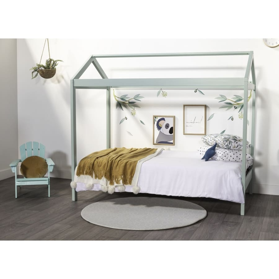 Hideaway Kids King Single Bed - Mint Colour