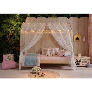 Hideaway Kids Single Bed - Pine Natural Colour