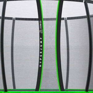 14ft HyperJump3 Springless Trampoline - Zipless Door