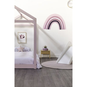 Cubby House King Single Bed - Pink Colour
