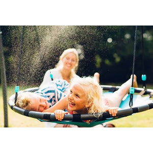 Plum® Premium Metal Nest Swing with Mist - Lifestyle Image 2