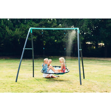 Plum® Premium Metal Nest Swing with Mist - Lifestyle Image 1