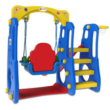 Ruby 4 in 1 Swing & Slide - Toddler Play Equipment - Back View