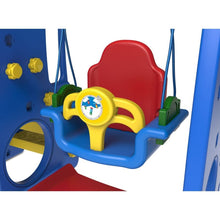 Ruby 4 in 1 Swing & Slide - Toddler Play Equipment - Swing Feature