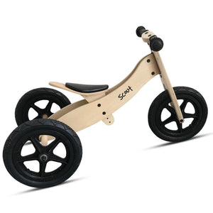 Scout 2-in-1 Balance Bike & Trike - Trike mode