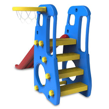 Toddler Topaz 2 in 1 Slide and Play - Basketball Set - Image 3