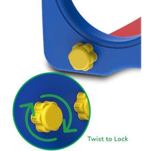 Toddler Topaz 2 in 1 Slide and Play - Hand Twist Lock Feature