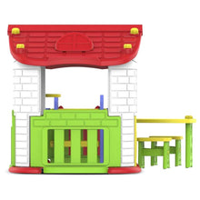 Toddler Wombat Plus Playhouse - Back View