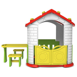 Plastic Play Equipment - Wombat V2 Playhouse - Product Image 1
