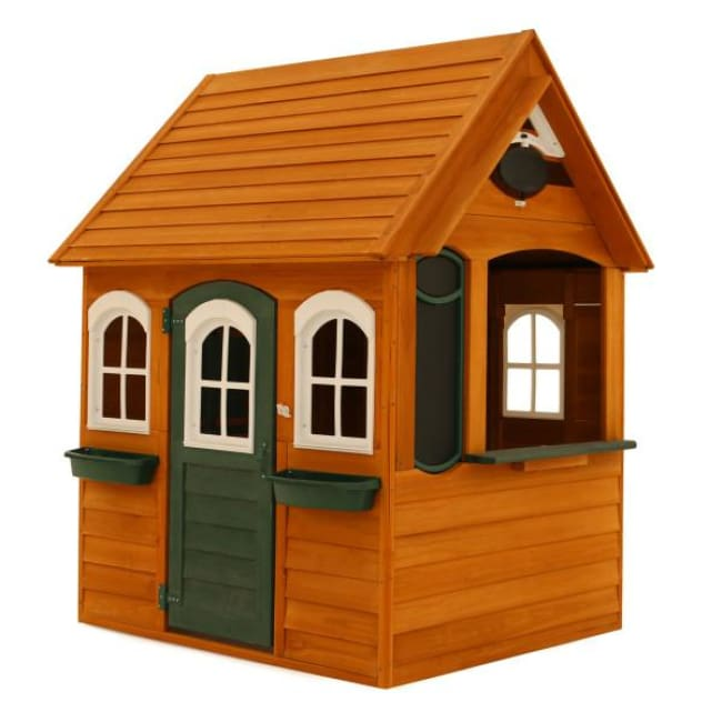 Bancroft Wooden Playhouse - Cubby House