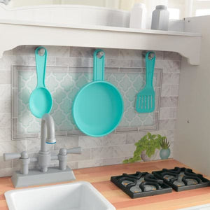 Kids Country Play Kitchen - Sink - Stove