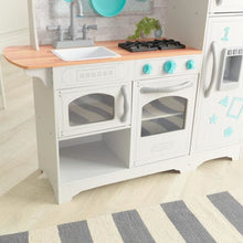 Kids White Country Play Kitchen