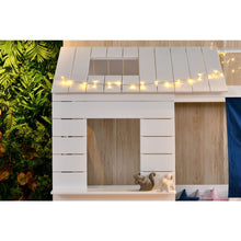 Wooden Cubby House Bed - Window