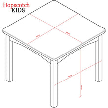 Kids Table & Chairs Set - Table Dimensions