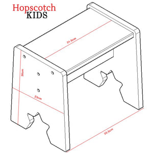 Kids Table & Chairs Set - Chair Dimensions