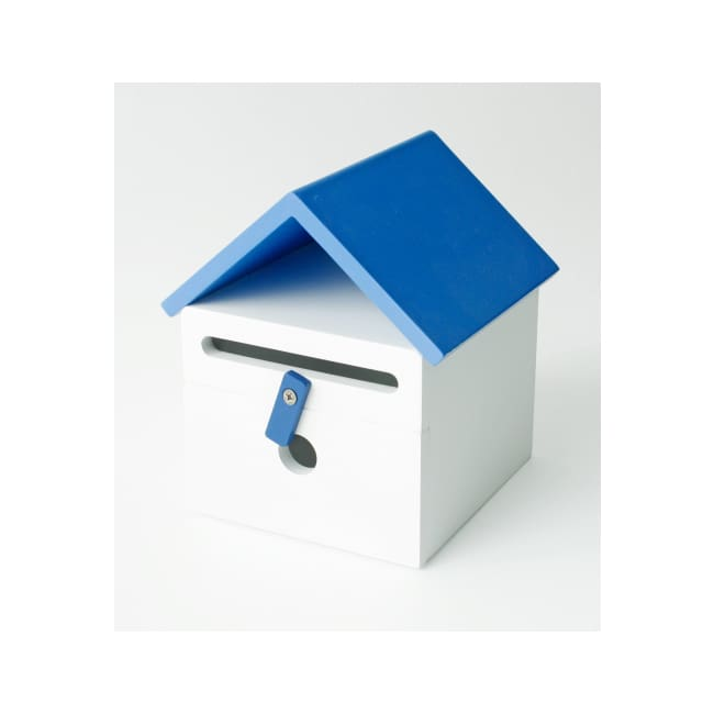Kids Mailbox - Blue - Cubby House Accessory