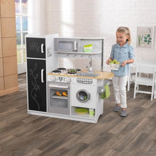 Girl and Kids Play Kitchen - White