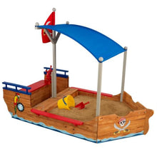 Pirate Sandbox - Kids Wooden Sand Pit