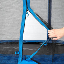Plum® 6Ft Junior Trampoline - Blue zip mesh