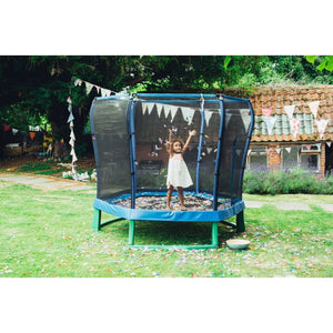 Plum® 7Ft Junior Jumper Trampoline - Girl on trampoline
