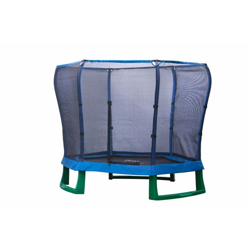 Plum® 7Ft Junior Jumper Trampoline - Blue