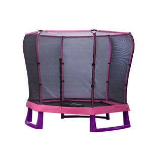 Plum® 7Ft Junior Jumper Trampoline - Pink
