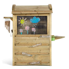 Plum® Discovery Nature Play Hideaway - Cubby House - Painting Screen