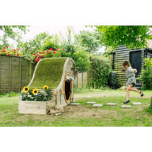 Plum® Discovery Nature Play Hideaway - Girl Skipping to Cubby House
