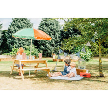 Plum® Picnic Table With Umbrella - Kids Picnic Setup