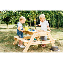 Plum® Surfside Sand And Water Table - 2 Boys Playing