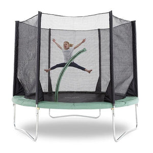 Plum® 10Ft Space Zone V3 Trampoline - Girl Jumping in Trampoline