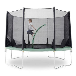 Plum® 12Ft Space Zone V3 Trampoline - Boy Jumping in Trampoline