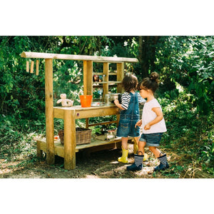 Plum® Discovery Mud Pie Kitchen - 2 Girls Playing