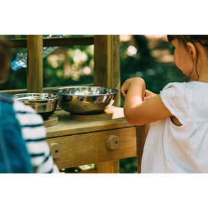 Plum® Discovery Mud Pie Kitchen - Girl Playing Cooking