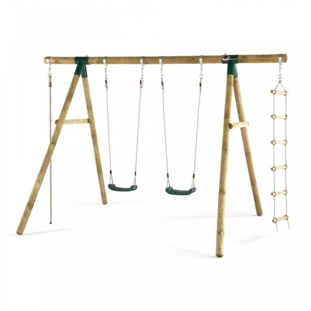 Plum® Gibbon Wooden Swing Set