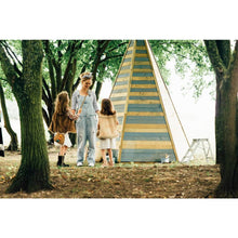 Plum® Grand Wooden Teepee - Cubby House in Forest