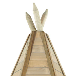 Plum® Grand Wooden Teepee - Top