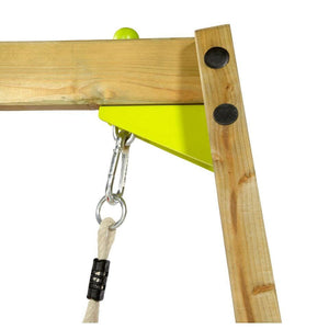 Plum® Growing Wooden Swing - Hardware and Timber corner