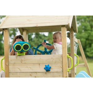 Plum® Lookout Tower Colour Pop Play Centre - Binoculars on Playset